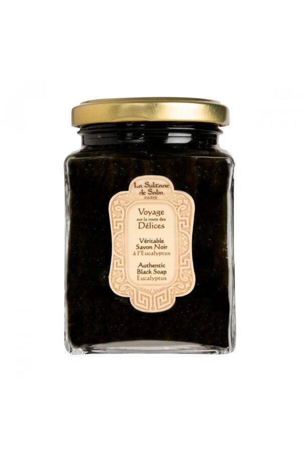 Черное мыло с эвкалиптом Authentic Black Soap Eucalyptus